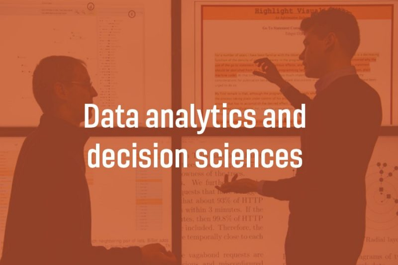 data analytics and decision sciences