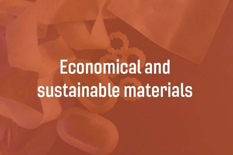 economical and sustainable materials